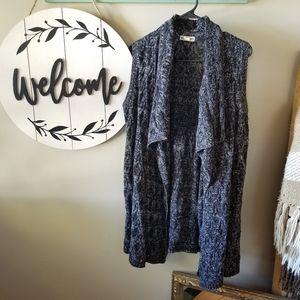 Artisan NY Sleeveless Sweater Cardigan